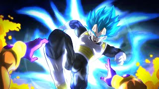 NEW Super Saiyan Blue Vegeta & Goku GO HARD!