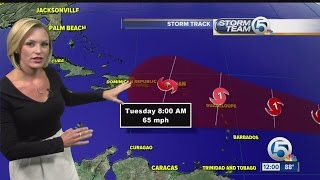 Danny now a Category 1 hurricane
