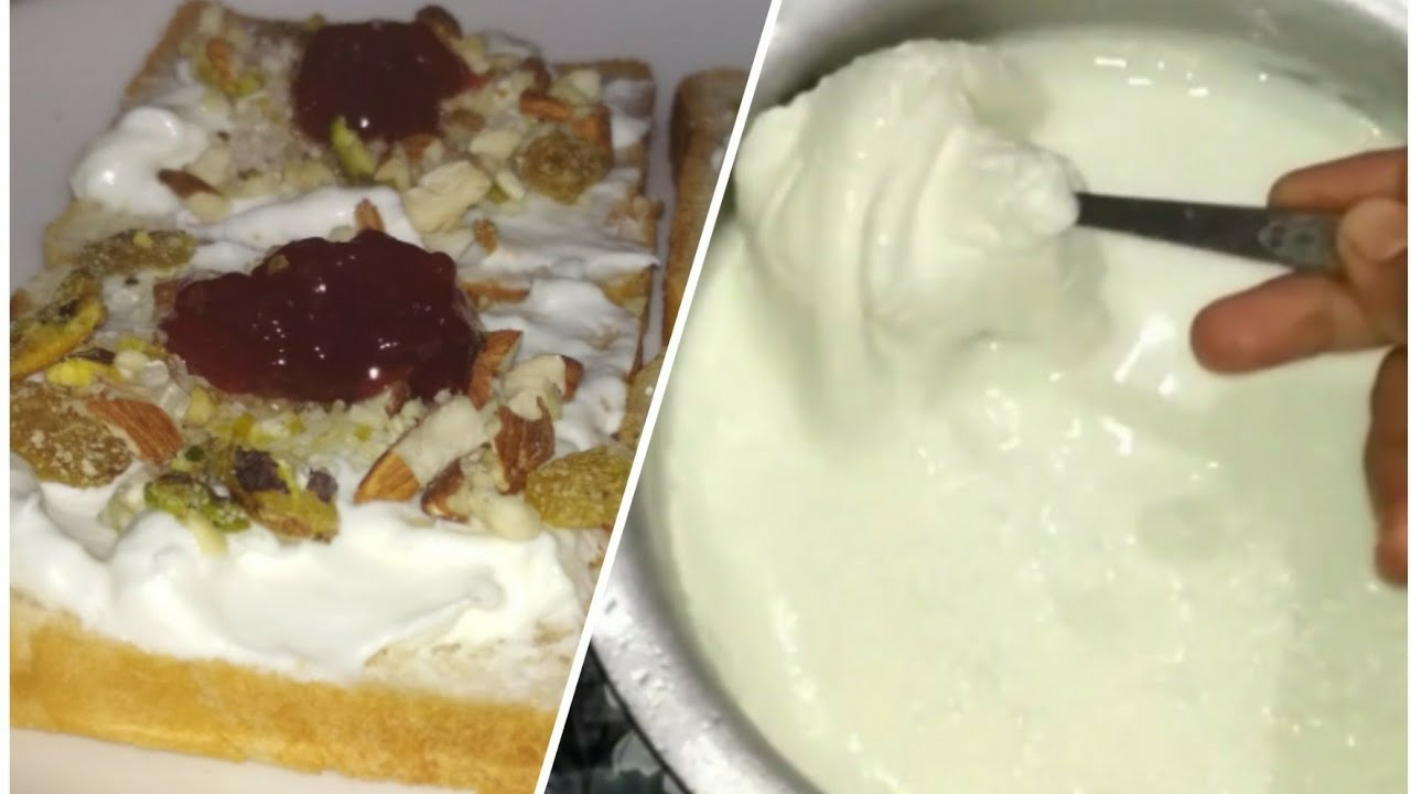 Aise jamaye double roti jesi moti malai | Nasreen kitchen tips - YouTube