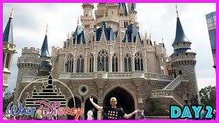 Walt Disney World Trip Day 2 - Magic Kingdom Park, Vlogging With Ariel, Rides And Family Fun