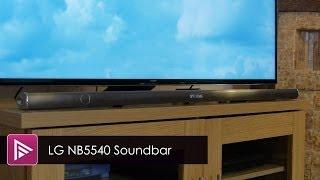 lG NB5540 Soundbar Review