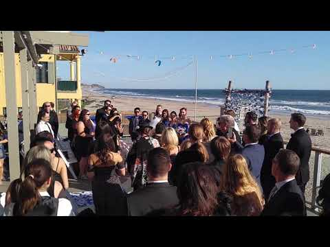 Www.charliedjandlighting.com -- Wedding At Malibu West Beach Club, Malibu, California.