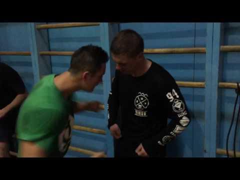 """Тренировка клуба """"Гермес"""". Рукопашный бой, боевое самбо, понижение порога болевой чувствительности!"""