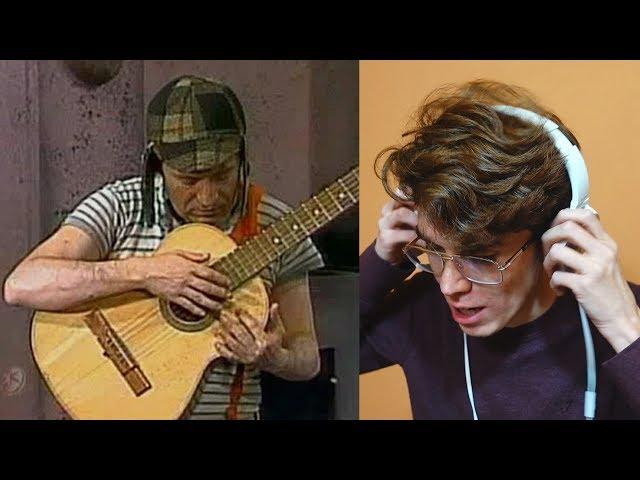 Reacciono a El Chavo Del 8 Tocando La Guitarra