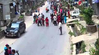 Nepal Earthquake 2072 BS (Gorkha Earthquake) - Buspark, Gorkha nearest to the epi Center