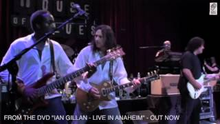 "Ian Gillan ""Live In Anaheim"" DVD ""Knocking At Your Back Door"""