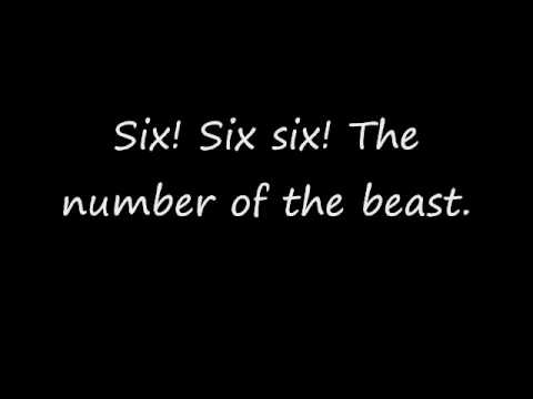 The Number of The Beast lyrics