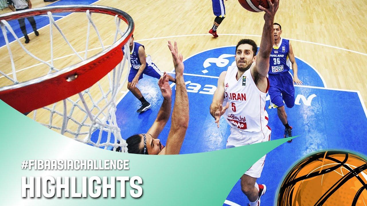 Iran v Thailand - Highlights - FIBA Asia Challenge 2016