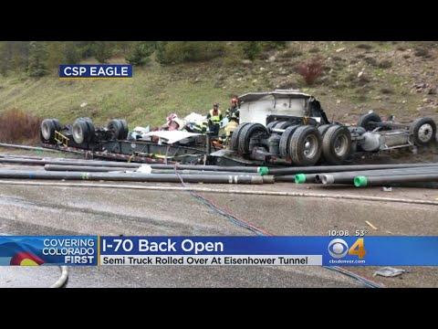 I-70 Reopens After Semi Crash