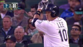 20160511 이대호 5호 3점 홈런
