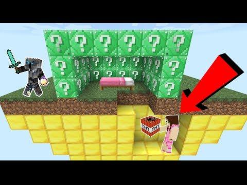 Minecraft: EMERALD LUCKY BLOCK BEDWARS! - Modded Mini-Game