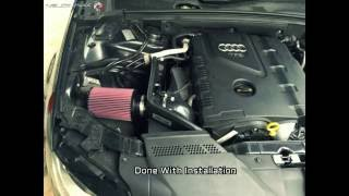 ECS Tuning Luft-Technik Intake Installed on Audi A4 B8 2.0T(Must Hear!!)