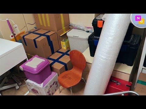 ПОСЛЕДНЯЯ НОЧЬ в квартире! УПАКОВКА вещей для переезда. Nataly Gorbatova