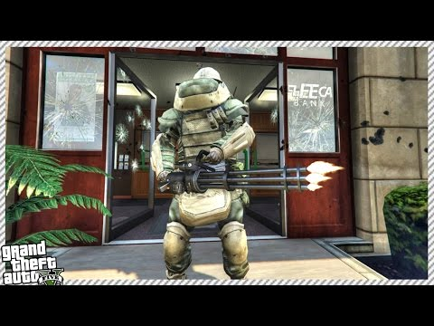ROBBING BANKS & MAKING MONEY PART 2 | EPIC JUGGERNAUT ARMOUR (GTA 5 GAMEPLAY)
