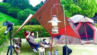 和歌山県のかみふれあい公園オートキャンプ場 【夫婦キャンプ・アウトドア】2016年5月13日〜15日