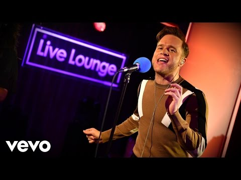 Olly Murs - Can't Stop The Feeling! (Justin Timberlake cover) in the Live Lounge
