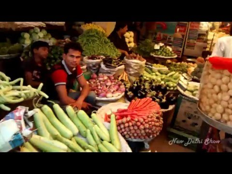 Fruit and Vegetable wholesale market in New Delhi  OKHLA