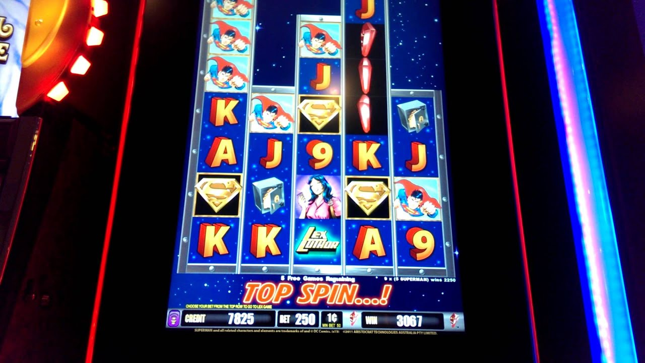superman the slot machine