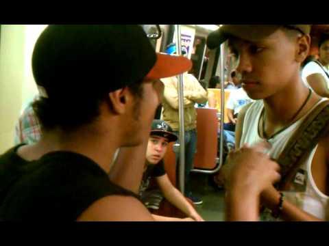 Un saludo a Puerto Rico desde el metro de Caracas (SEGUNDA PARTE)