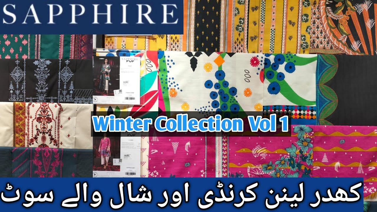 sapphire winter collection 2021