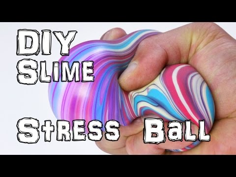 How to Make DIY Slime Stress Balls