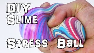 How to Make Slime Stress Balls