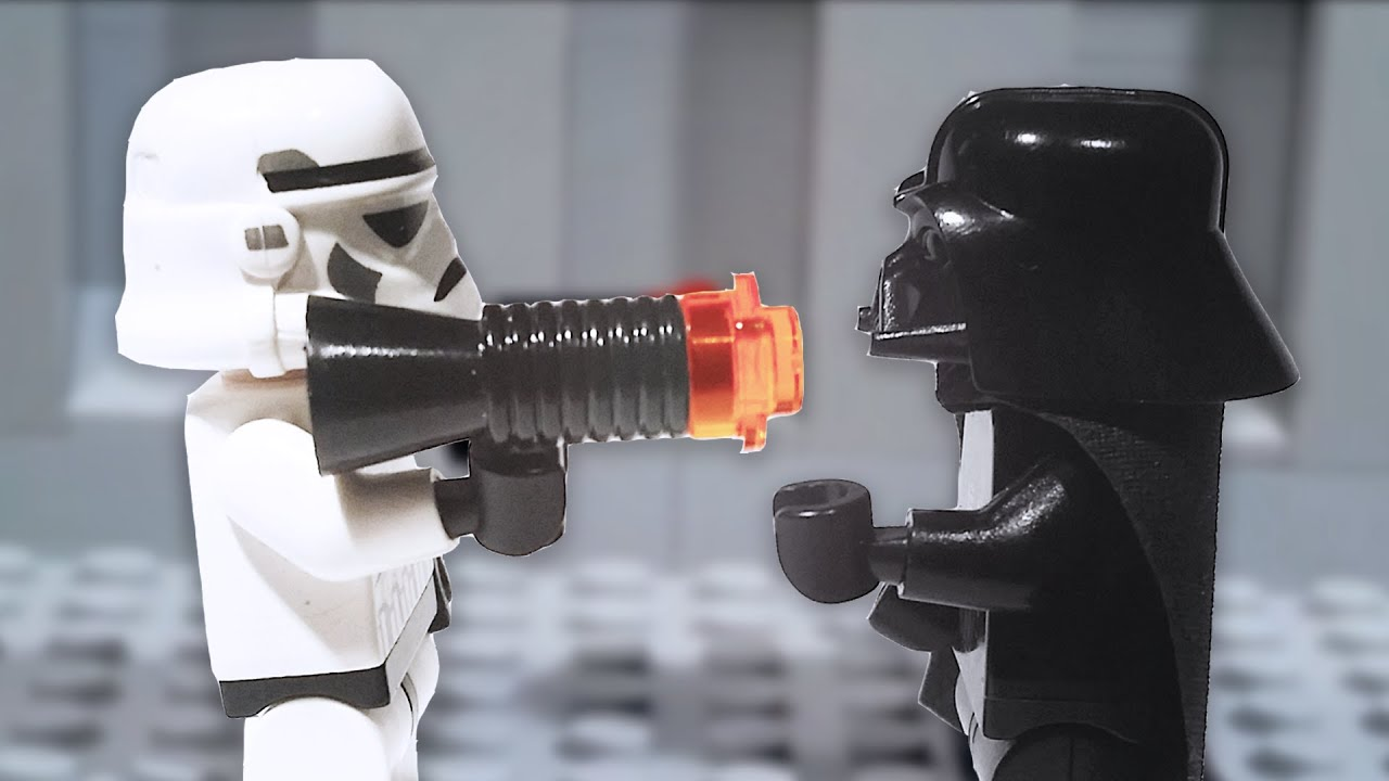 LEGO Star Wars Never Mess With Darth Vader YouTube