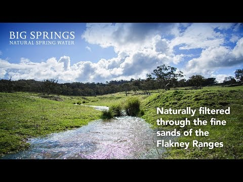 Water Delivery Service - Big Springs Natural Spring Water