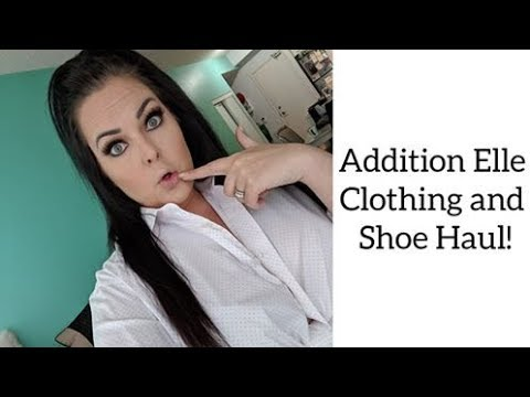 Addition Elle Clothing and Shoe Haul. http://bit.ly/2Xc4EMY
