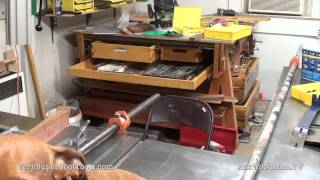 785. Guide Rail Install  • Table Saw Work Station Series