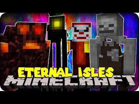 Minecraft Mods - CRAZY COOL MOBS ( Eternal Isles Mod Showcase)