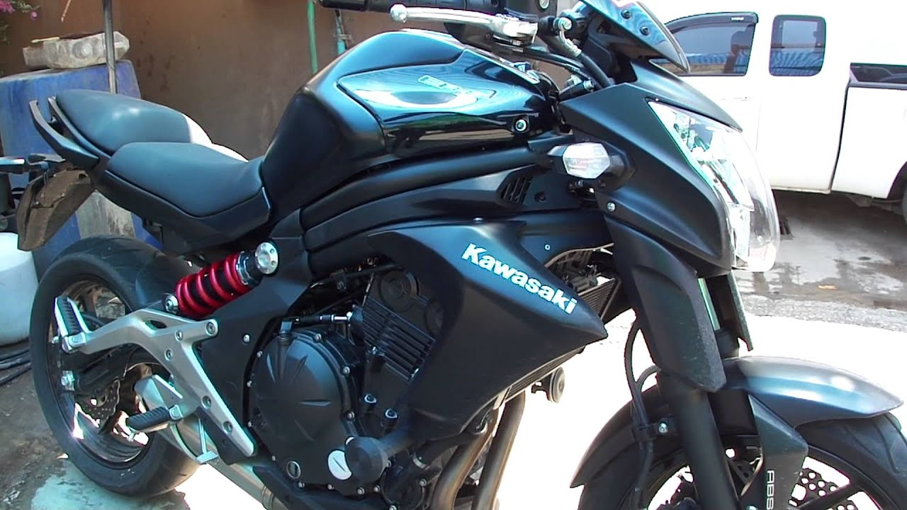 Kawasaki Er6n 2013 Review Test And Update In Chiang Mai Thailand