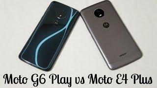 Moto G6 Play vs Moto E4 Plus Speed Test Comparison