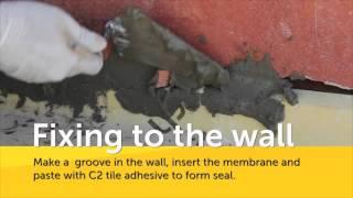DRY80 Lamina | On Dry Concrete