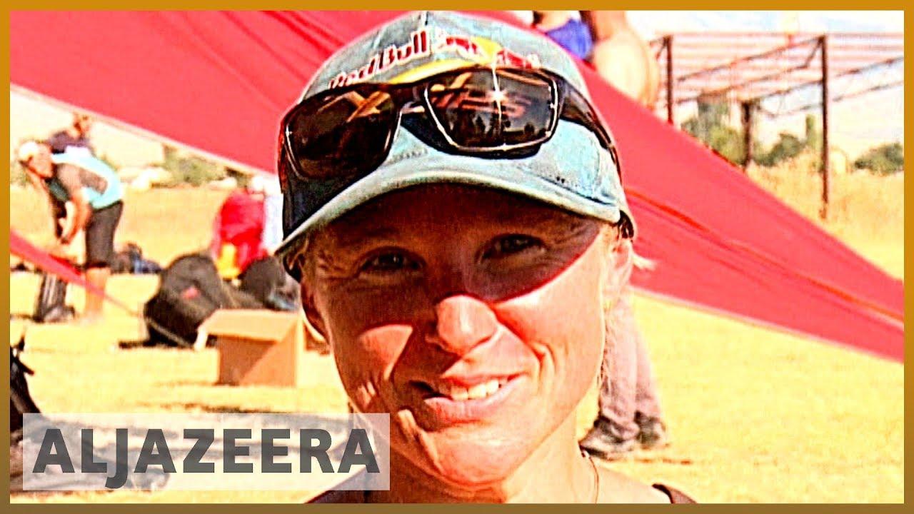 AlJazeera English:US female paraglider hopes to inspire other women