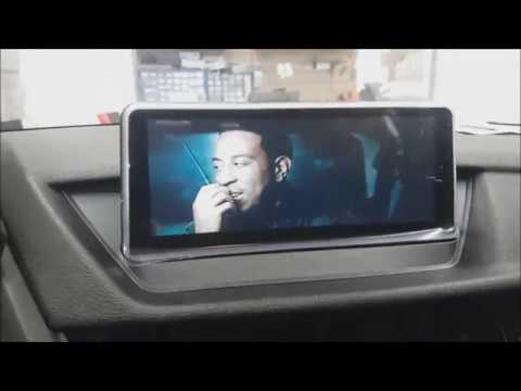 "DIY How to install BMW X1 E84 10.25"" Android Screen Navigation Backup camera"