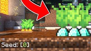 CULTIVOS MALDITOS de la SEMILLA 0 BLOQUEADA por MOJANG| Minecraft