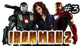 Iron Man 2 Gameplay Walkthrough Part 3 - Crimson Dynamo!