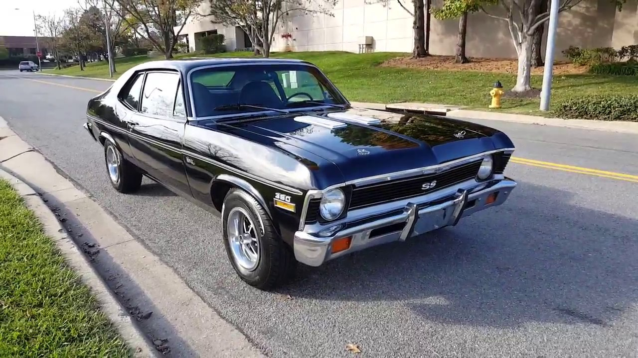 1972 chevy nova ss for sale youtube. Black Bedroom Furniture Sets. Home Design Ideas