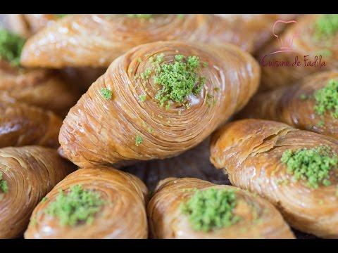 ch'ibiyates-pâtisserie-orientale-feuilletée-(midye-tatlısı-)