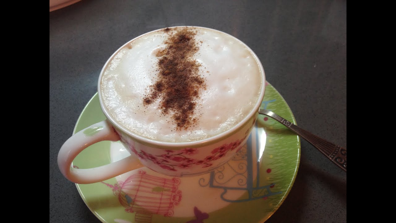 Как сделать кофейную пенку фото 701