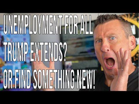 Unemployment For All 7-15-20: Trump Extended Unemployment Benefits? Ivanka PUA $600 Week Ends Soon!