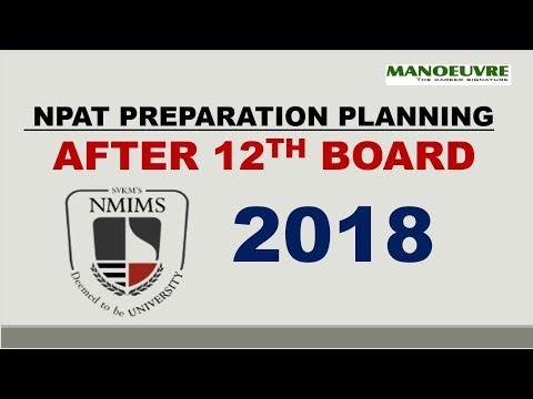 NPAT 2018:  AFTER  12TH BOARD PREPARATION PLANNING