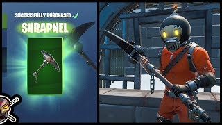 Before You Buy The *NEW* SPLODE Skin and SHRAPNEL Harvesting Tool in Fortnite!