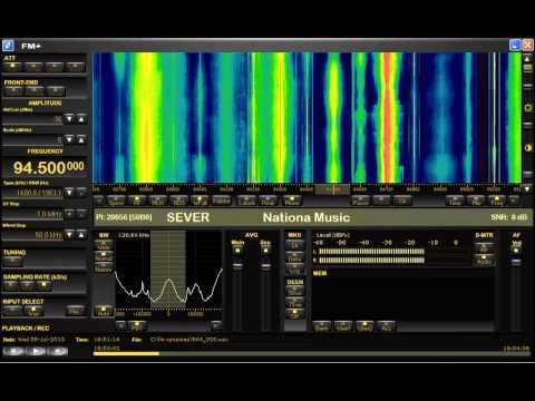 FM DX sporadic E in Holland: Slovakia Radio Sever Zilina 1038km