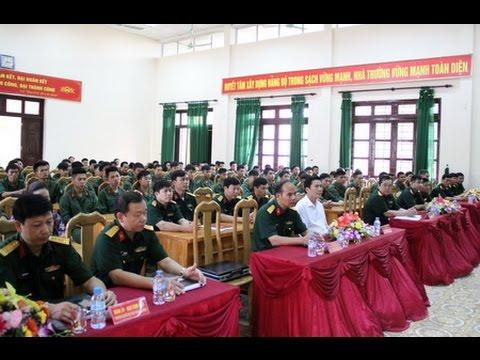Chủ tịch UBND tỉnh dự Lễ khai giảng lớp đào tạo sĩ quan dự bị khóa I năm 2016