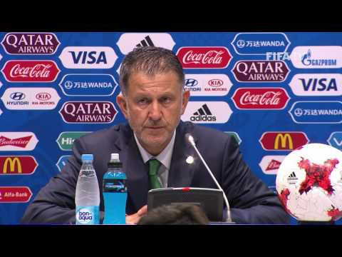 MEX v NZL - Juan CARLOS OSORIO - Mexico Post-Match Press Conference