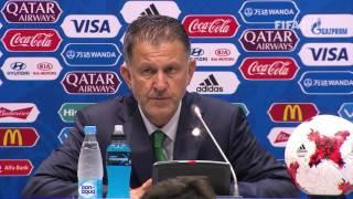 MEX v NZL - Juan CARLOS OSORIO - Mexico Post-Match Press Conference