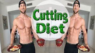Cutting Diet | (BluePrint To Cut) - Meal By Meal Shredding Diet!
