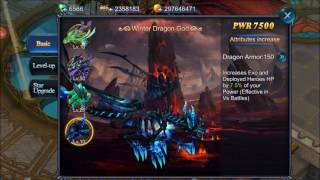 Goddess: Primal Chaos Leveling UP Summer Dragon from 27 to 58 [HD]